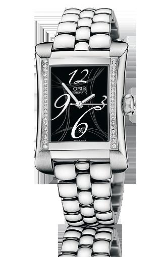 часы Oris Oris Rectangular Date Diamonds