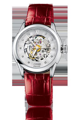 часы Oris Oris Artelier Skeleton Diamonds