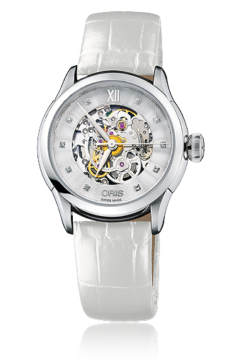 ���� Oris Oris Artelier Skeleton Diamonds