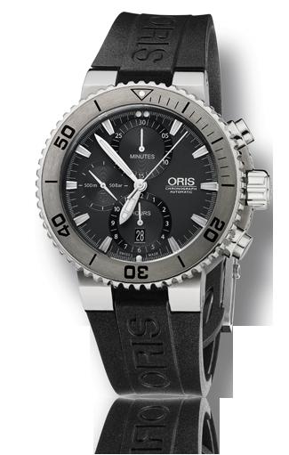 часы Oris Oris Aquis Titan Chronograph