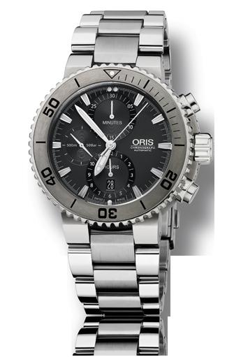 ���� Oris Oris Aquis Titan Chronograph