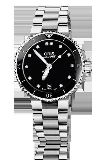 ���� Oris Oris Aquis Date Diamonds