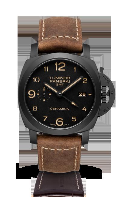 часы Panerai LUMINOR  1950 3 DAYS GMT  AUTOMATIC CERAMICA
