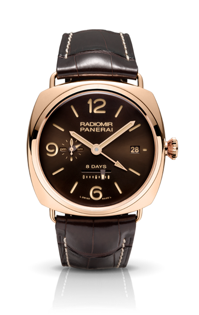 часы Panerai RADIOMIR  8 DAYS GMT ORO ROSSO