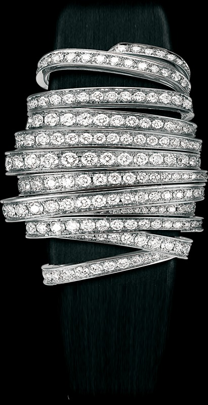 ���� Piaget Limelight ribbon motif secret watch