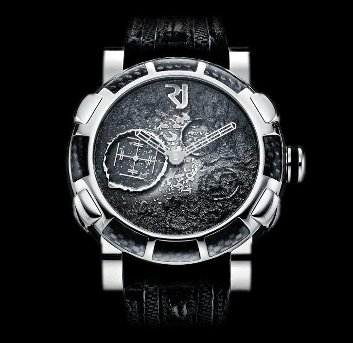 часы Romain Jerome MOON DUST STEEL MOOD SILVER AUTO