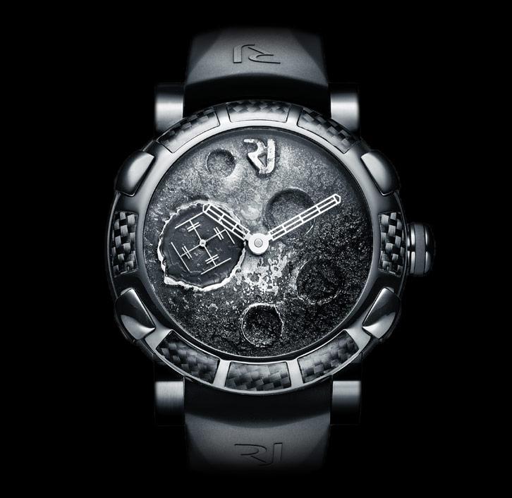 часы Romain Jerome MOON DUST BLACK MOOD SILVER AUTO
