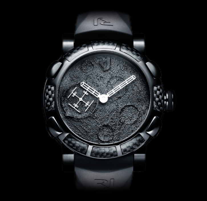 часы Romain Jerome MOON DUST BLACK MOOD BLACK AUTO