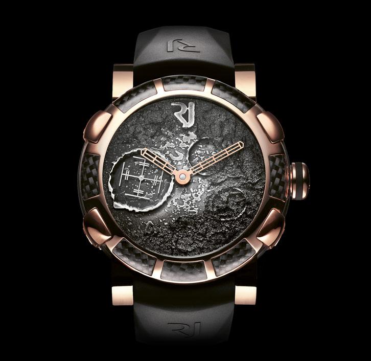 часы Romain Jerome MOON DUST GOLD MOOD SILVER AUTO