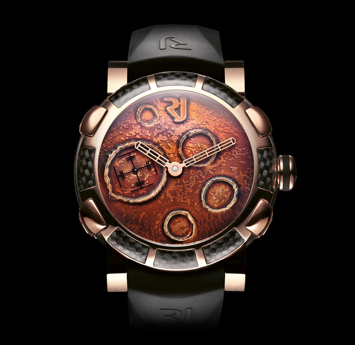 часы Romain Jerome MOON DUST GOLD MOOD OCHRE AUTO