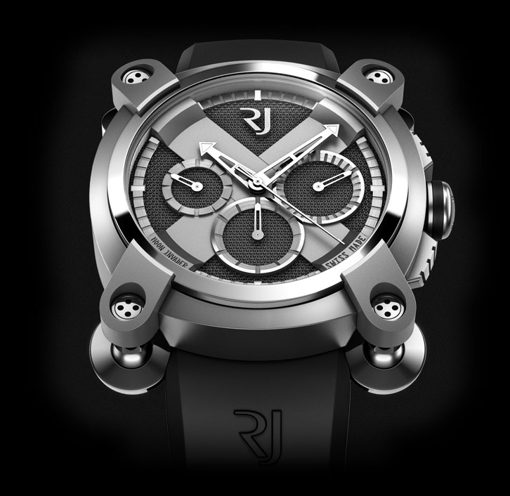 часы Romain Jerome MOON INVADER HEAVY METAL CHRONOGRAPH