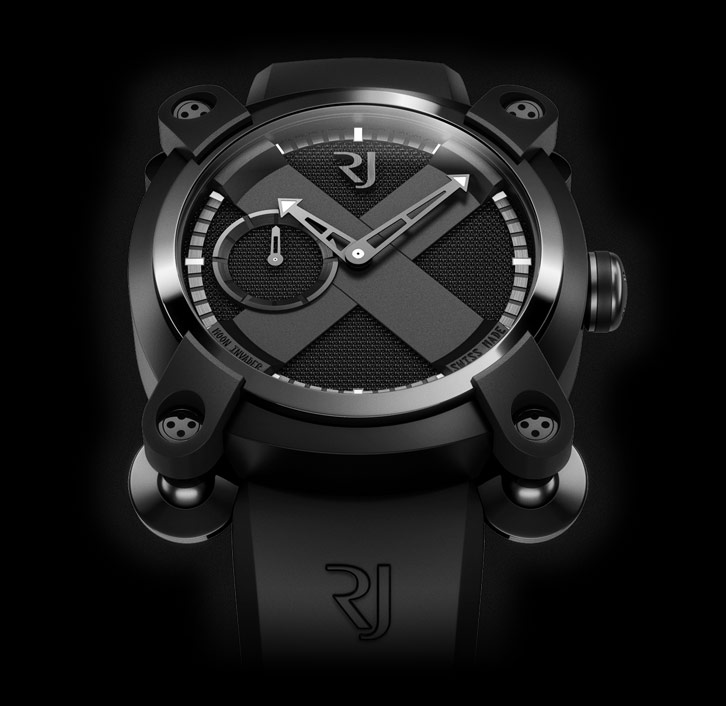 ���� Romain Jerome MOON INVADER BLACK METAL AUTOMATIC