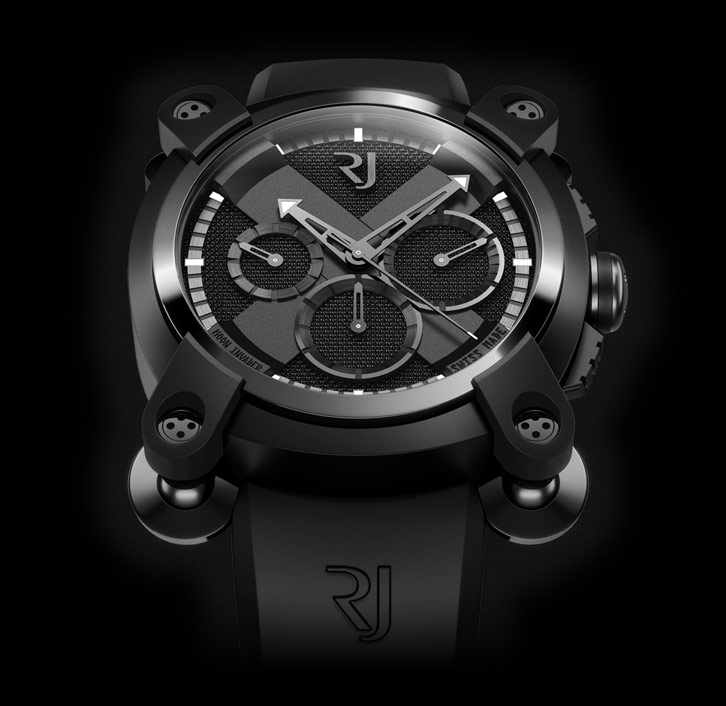 часы Romain Jerome MOON INVADER BLACK METAL CHRONOGRAPH