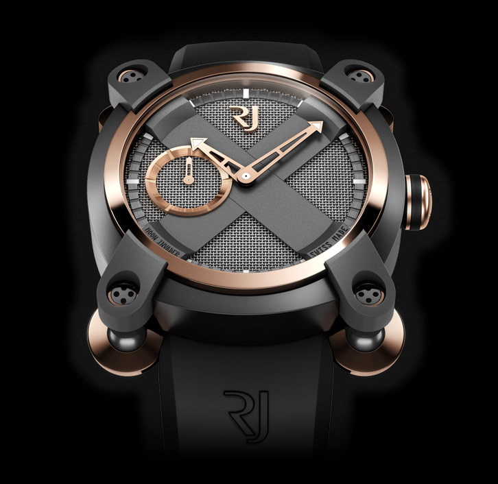 часы Romain Jerome MOON INVADER EMINENCE GRISE AUTOMATIC