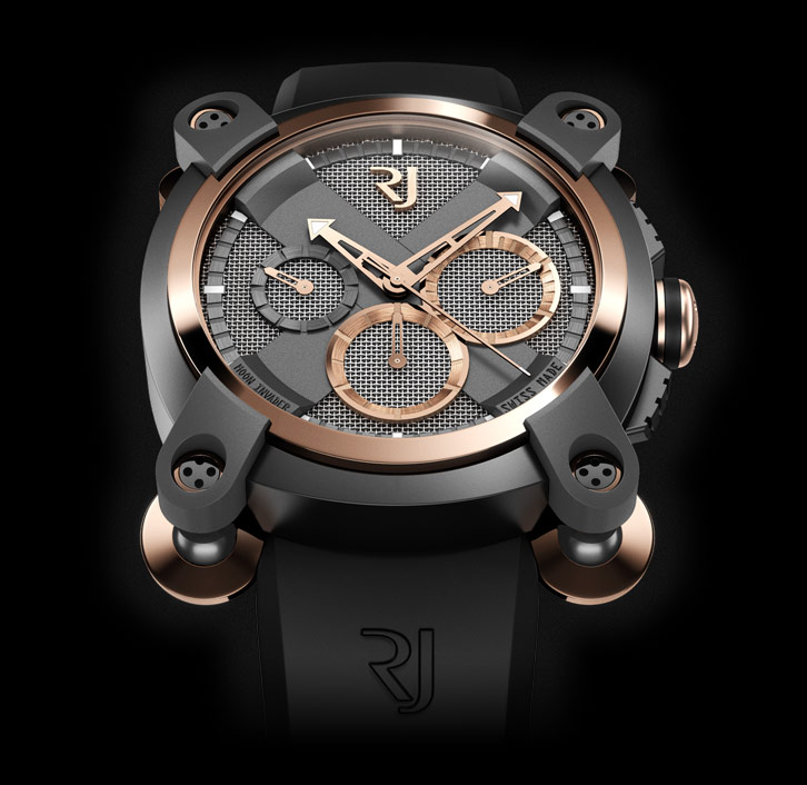 часы Romain Jerome MOON INVADER EMINENCE GRISE CHRONOGRAPHMATIC