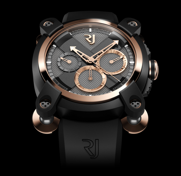 часы Romain Jerome MOON INVADER RED SPEED METAL CHRONOGRAPH