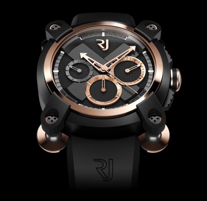 часы Romain Jerome MOON INVADER RED METAL CHRONOGRAPH
