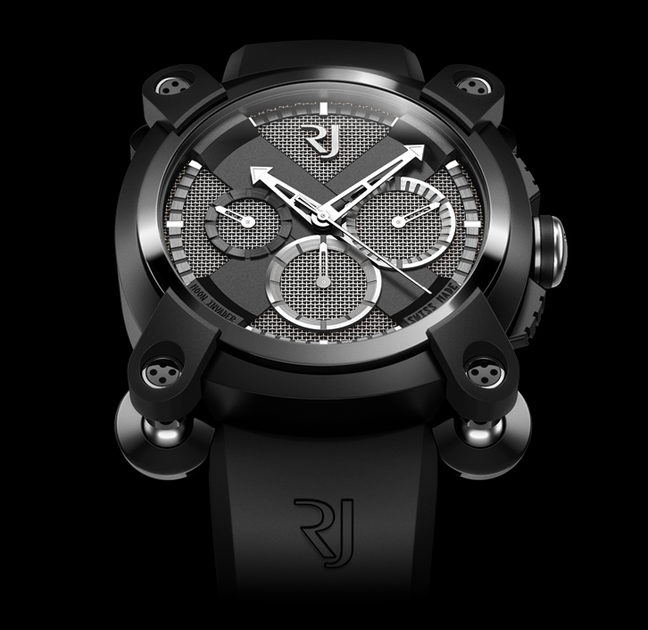 часы Romain Jerome MOON INVADER SPEED METAL CHRONOGRAPH