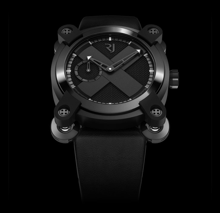 часы Romain Jerome MOON INVADER 40 BLACK METAL AUTO