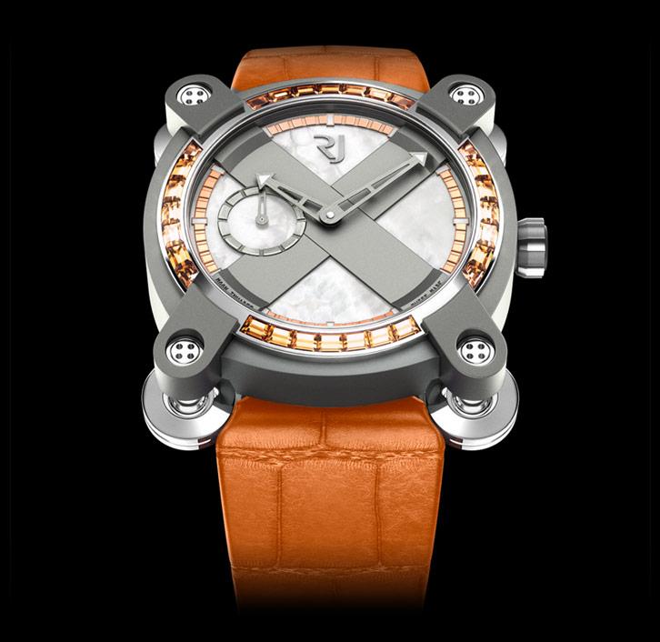 часы Romain Jerome MOON INVADER TANGERINE