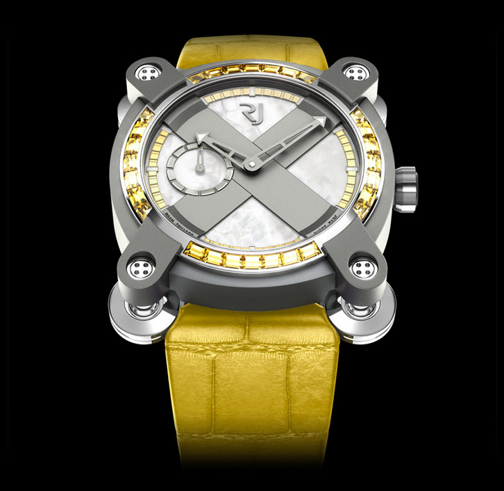 часы Romain Jerome MOON INVADER LEMON