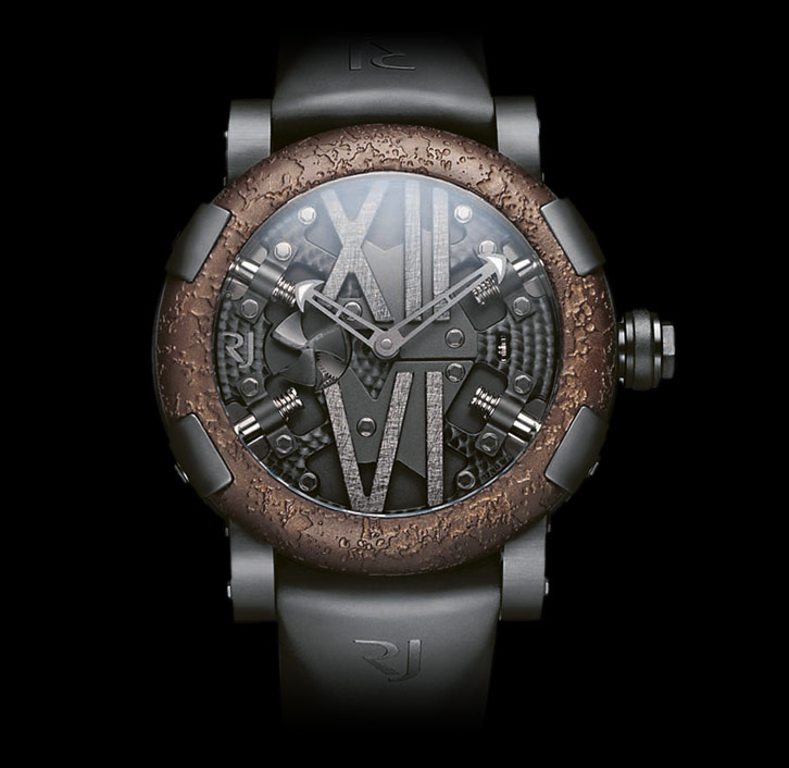 часы Romain Jerome STEAMPUNK BLACK AUTO