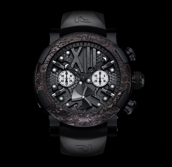 часы Romain Jerome STEAMPUNK BLACK CHRONO