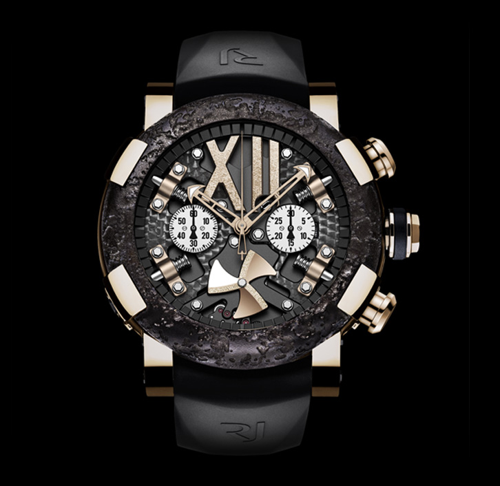часы Romain Jerome STEAMPUNK RED CHRONO