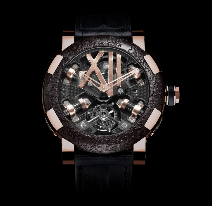 часы Romain Jerome STEAMPUNK RED TOURBILLON