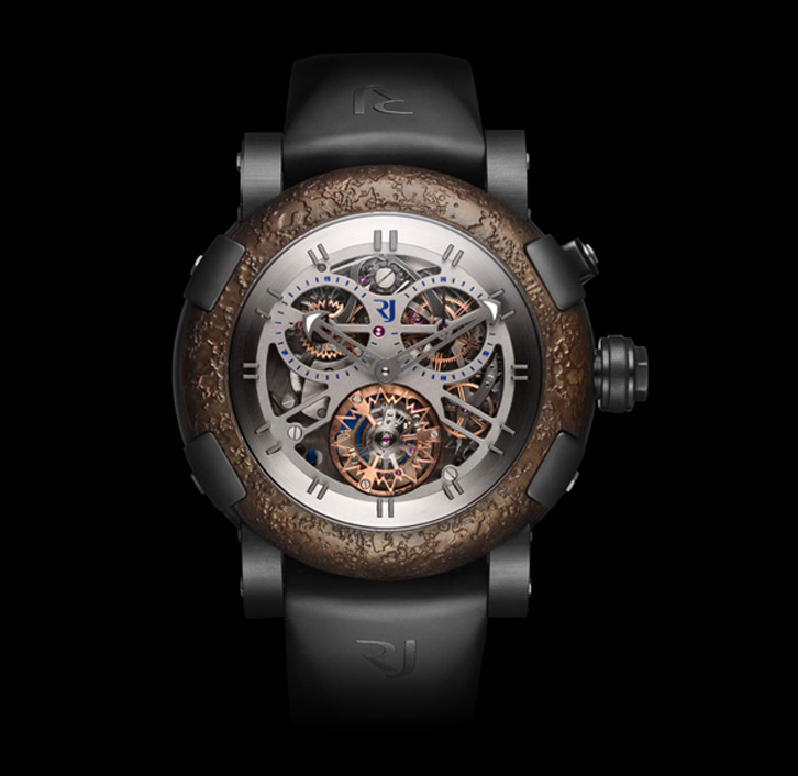 ���� Romain Jerome BLACK CHRONO TOURBILLON
