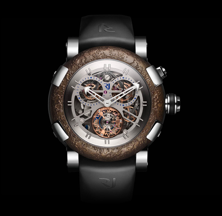 часы Romain Jerome STEEL CHRONO TOURBILLON