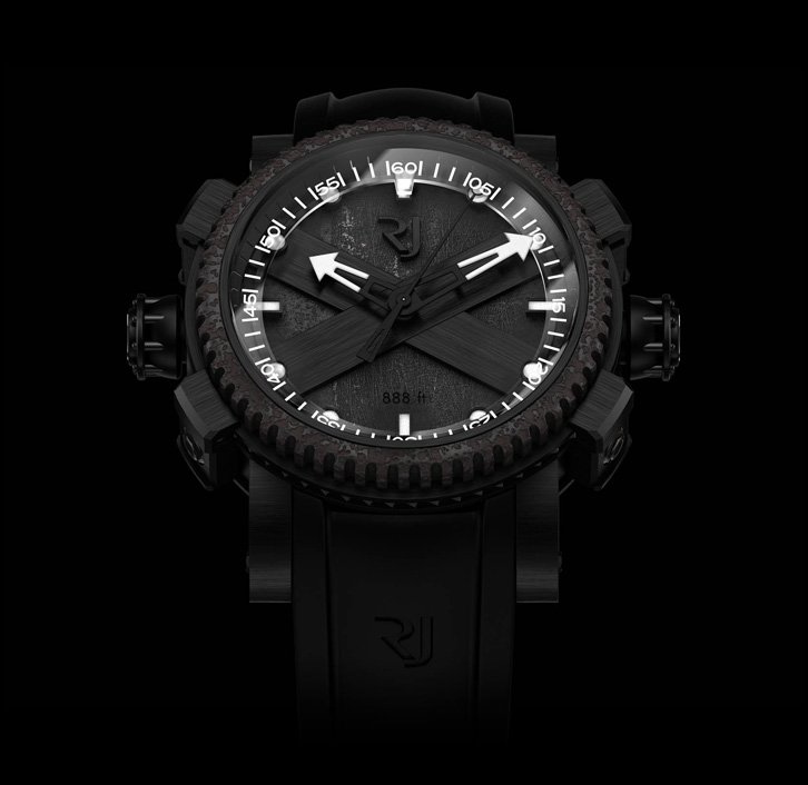 часы Romain Jerome STEAMPUNK BLACK OCTOPUS