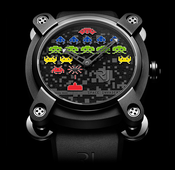 часы Romain Jerome SPACE INVADERS®
