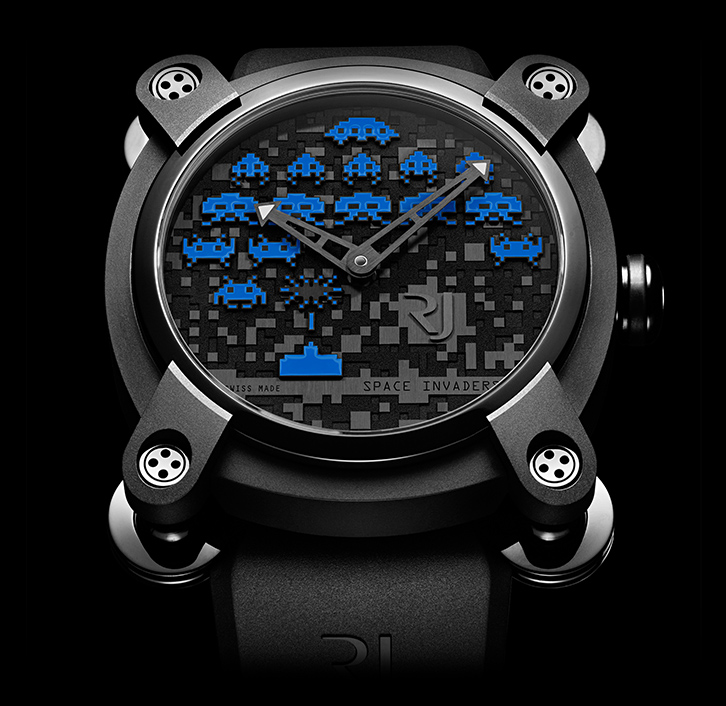 часы Romain Jerome SPACE INVADERS® BLUE