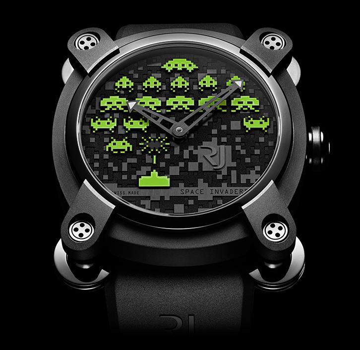часы Romain Jerome SPACE INVADERS® GREEN