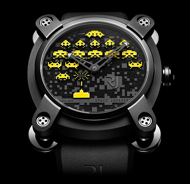 ���� Romain Jerome SPACE INVADERS� YELLOW