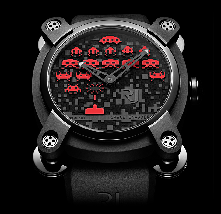 часы Romain Jerome SPACE INVADERS® RED