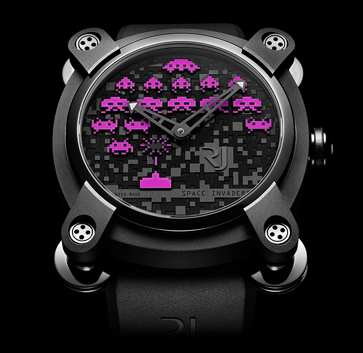 часы Romain Jerome SPACE INVADERS® PURPLE
