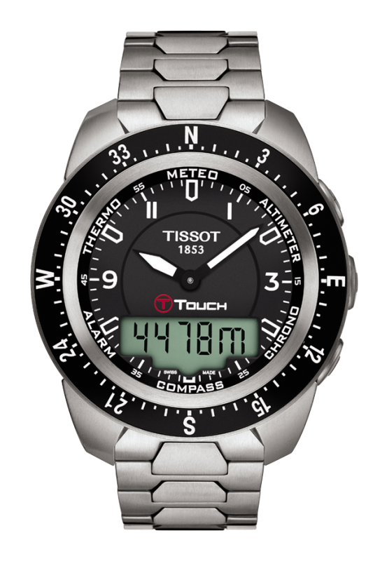 часы Tissot TISSOT T-TOUCH EXPERT TITANIUM