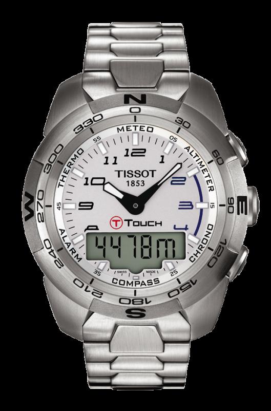 часы Tissot TISSOT T-TOUCH EXPERT STAINLESS STEEL