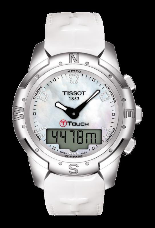 часы Tissot TISSOT T-TOUCH II TITANIUM LADY