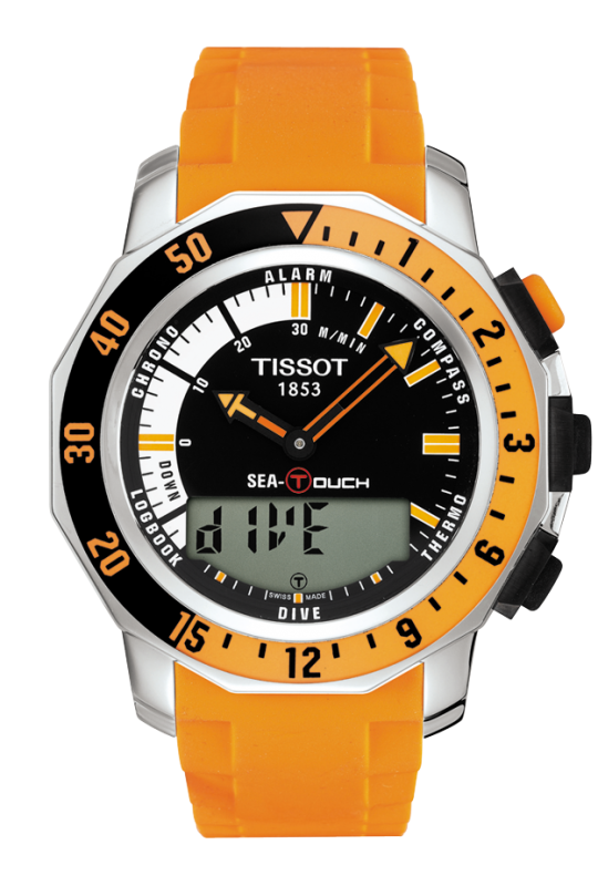 часы Tissot TISSOT SEA-TOUCH IN METERS