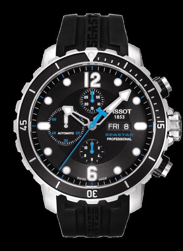 часы Tissot TISSOT SEASTAR 1000 AUTOMATIC PROFESSIONAL CHRONOGRAPH VALJOUX