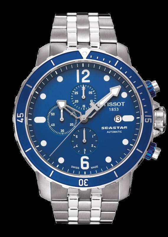 часы Tissot TISSOT SEASTAR 1000 AUTOMATIC CHRONOGRAPH