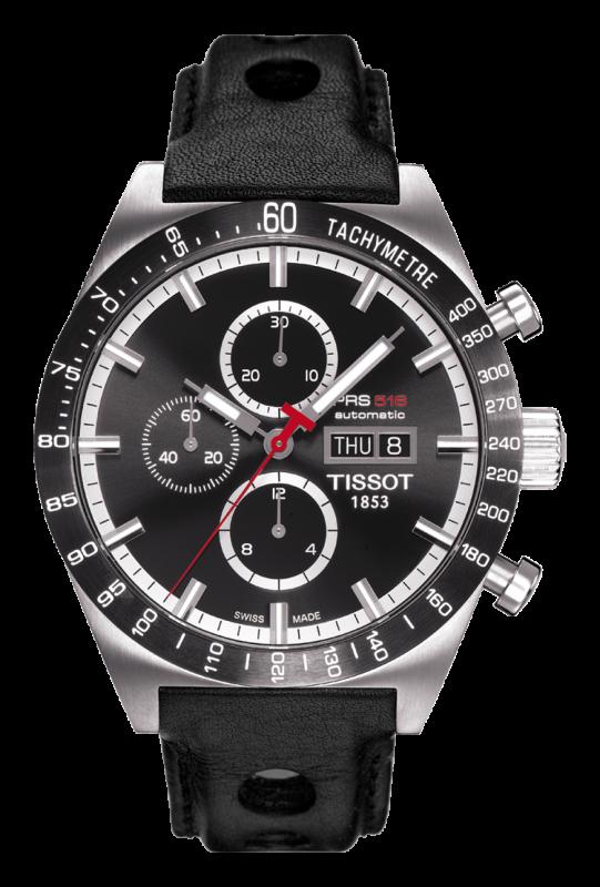 часы Tissot TISSOT PRS 516 AUTOMATIC CHRONOGRAPH