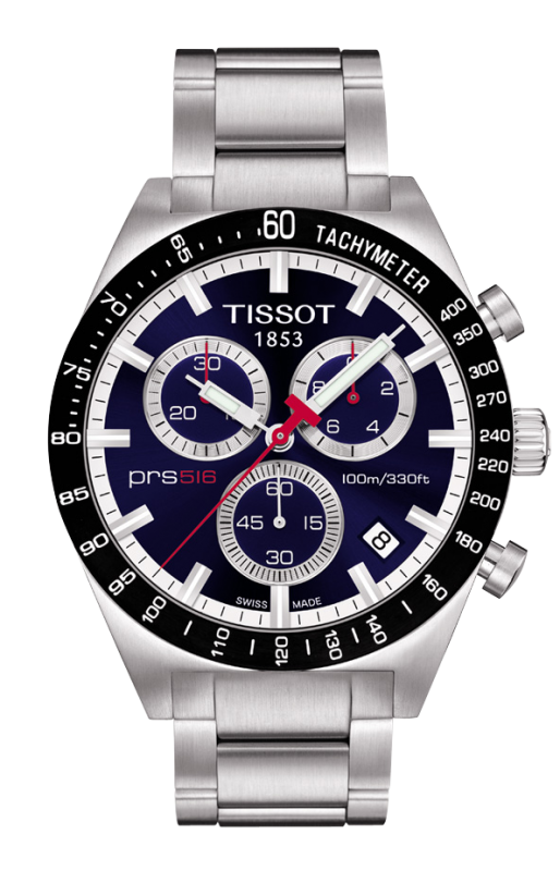 часы Tissot TISSOT PRS 516 QUARTZ CHRONOGRAPH