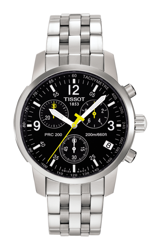 часы Tissot TISSOT PRC 200 QUARTZ CHRONOGRAPH