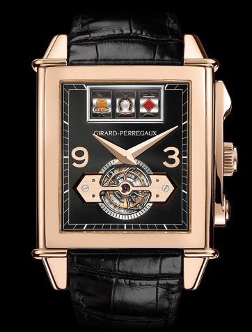 часы Girard Perregaux Vintage 1945 JACKPOT TOURBILLON