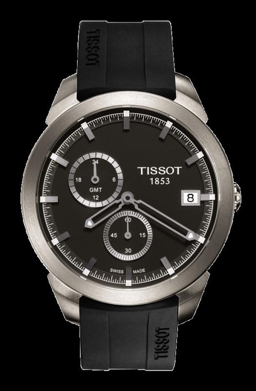 часы Tissot TISSOT TITANIUM GMT