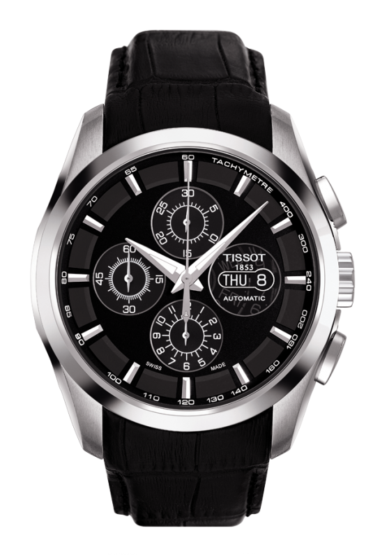 часы Tissot TISSOT COUTURIER AUTOMATIC CHRONOGRAPH VALJOUX